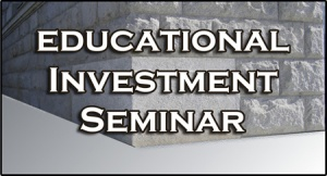 Educational Investment Seminar Graphic